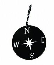 Compass Rose windcatcher in Black