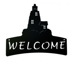 Lighthouse Welcome Plaque 524